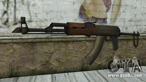 AKM Assault Rifle for GTA San Andreas