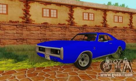 GTA 4 Imponte Dukes V1.0 for GTA San Andreas back view