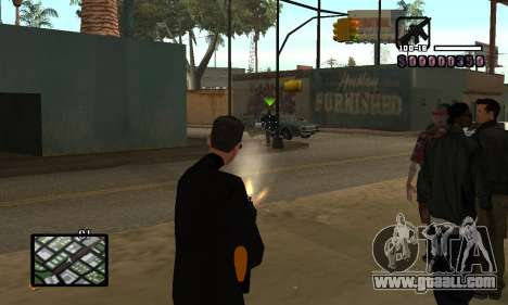 C-HUD by Miller for GTA San Andreas third screenshot