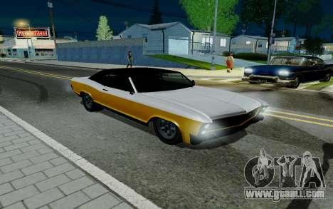 Albany Buccaneer из GTA 5 for GTA San Andreas