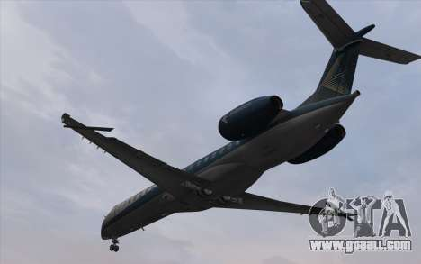 Embraer 145 Xp for GTA San Andreas back left view