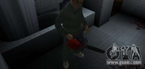 Chainsaw Taiga for GTA Vice City forth screenshot