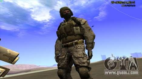 U.S. Navy Seal for GTA San Andreas