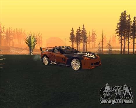 Chevrolet Corvette C6 из NFS MW for GTA San Andreas