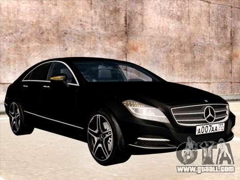 Mercedes-Benz CLS350 2012 for GTA San Andreas