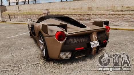 Ferrari LaFerrari v2.0 for GTA 4 back left view