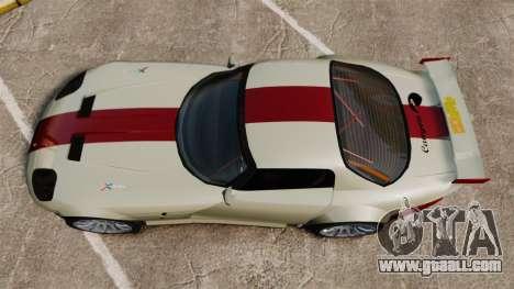 Bravado Banshee GT3 for GTA 4 right view