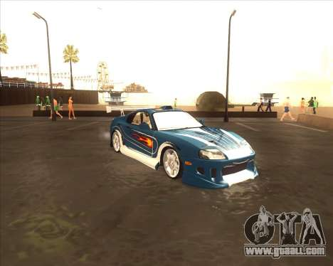 Toyota Supra из NFS Most Wanted for GTA San Andreas