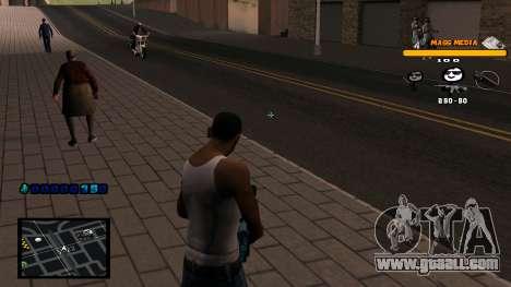 C-HUD Mass Media for GTA San Andreas third screenshot