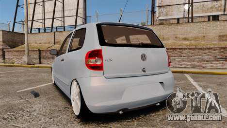 Volkswagen Fox for GTA 4 back left view
