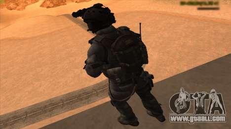 Sgt Keegan P.Russ из Call Of Duty: Ghosts for GTA San Andreas seventh screenshot