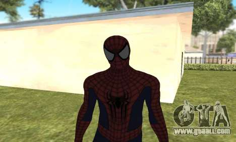 The new spider-man for GTA San Andreas