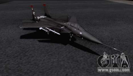 F-15S for GTA San Andreas back left view