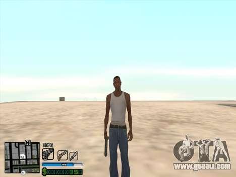 C-HUD by Stafford for GTA San Andreas third screenshot