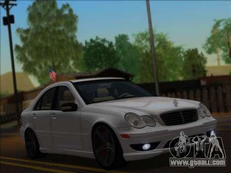 Mercedes-Benz C32 AMG Vossen V1.0 2004 for GTA San Andreas