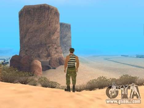 Pak Russian army service for GTA San Andreas tenth screenshot