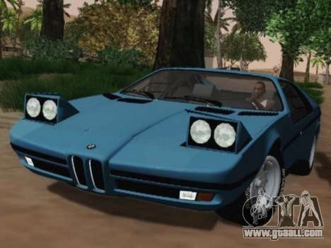 BMW M1 Turbo 1972 for GTA San Andreas