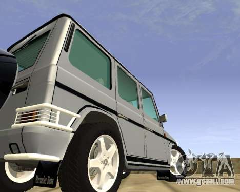 Mercedes-Benz G500 Brabus for GTA San Andreas left view