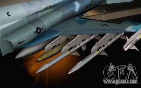 F-5E Tiger II for GTA San Andreas right view