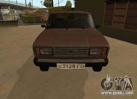 VAZ 2107 Early version for GTA San Andreas left view