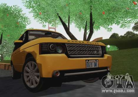 Range Rover Supercharged Series III for GTA San Andreas left view