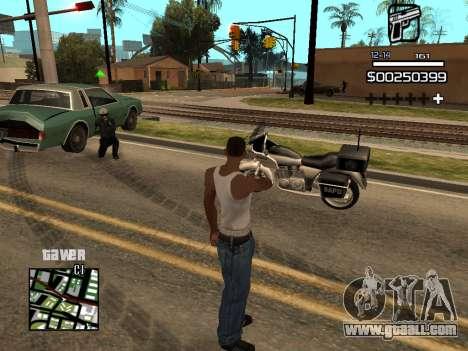C-HUD By Kapo for GTA San Andreas fifth screenshot