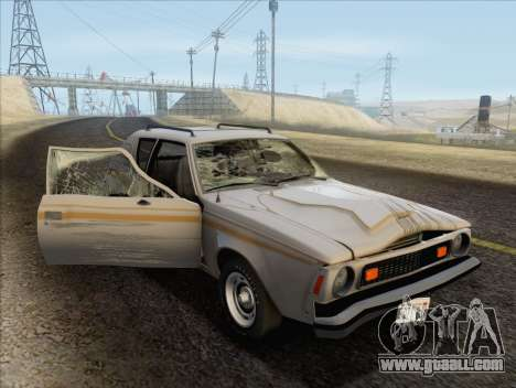 AMC Gremlin X 1973 for GTA San Andreas side view