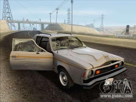 AMC Gremlin X 1973 for GTA San Andreas side view