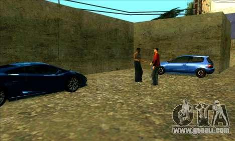 Car service center of Sijia in Las Venturas for GTA San Andreas third screenshot