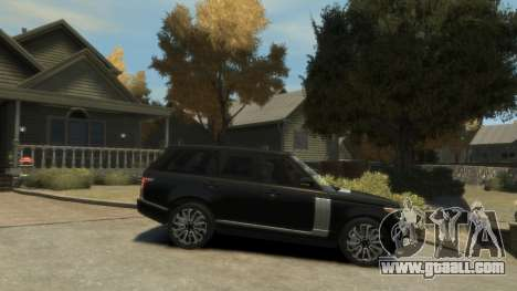 Range Rover Vogue 2014 for GTA 4 left view