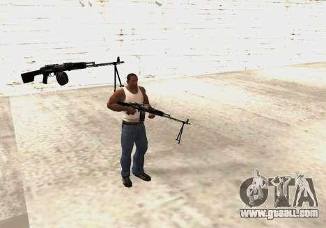 RPK-203 for GTA San Andreas sixth screenshot