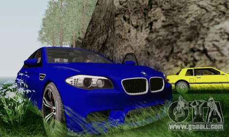 BMW F10 M5 2012 Stock for GTA San Andreas side view