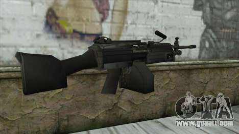 M249 SAW Machine Gun for GTA San Andreas second screenshot