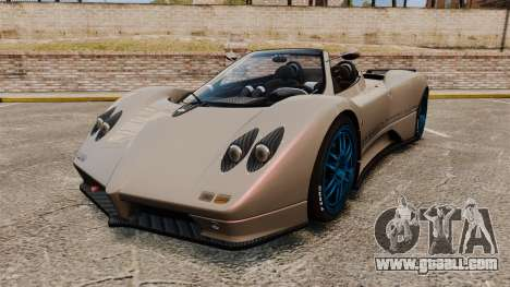 Pagani Zonda C12 S Roadster 2001 PJ1 for GTA 4