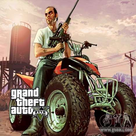 Boot screen GTA V for GTA San Andreas forth screenshot
