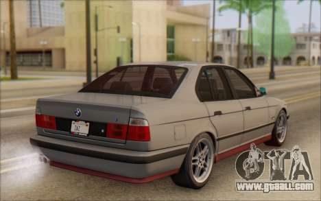BMW M5 E34 1995 for GTA San Andreas left view