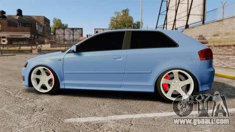 Audi S3 EmreAKIN Edition for GTA 4 left view