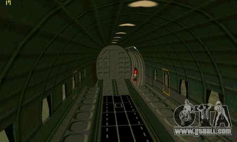 C-47 Dakota RAF for GTA San Andreas right view