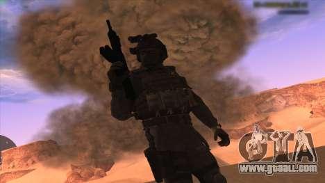 Sgt Keegan P.Russ из Call Of Duty: Ghosts for GTA San Andreas third screenshot