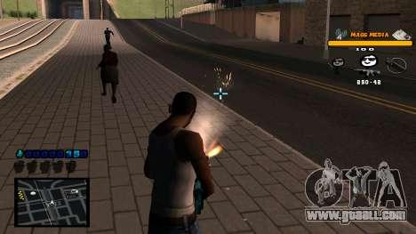 C-HUD Mass Media for GTA San Andreas forth screenshot