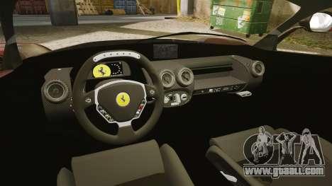 Ferrari LaFerrari for GTA 4 inner view