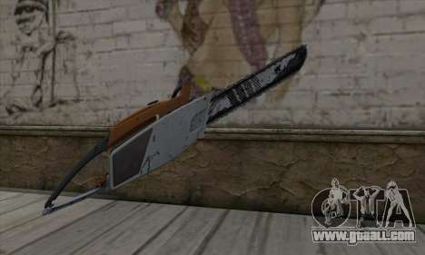 Chainsaw for GTA San Andreas second screenshot