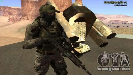 U.S. Navy Seal for GTA San Andreas forth screenshot