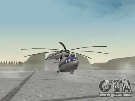 Mi 26 Civil for GTA San Andreas left view