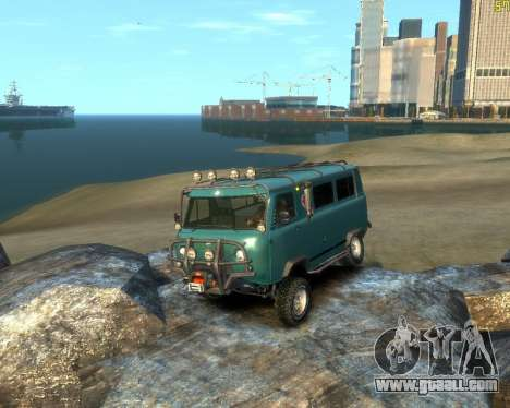 UAZ-3962 OFF ROAD for GTA 4 left view