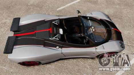 Pagani Zonda C12 S Roadster 2001 PJ5 for GTA 4 right view