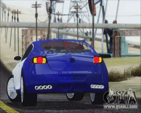 Bugatti Galibier 16c Final for GTA San Andreas left view
