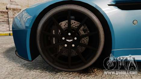 Aston Martin V12 Vantage S 2013 [Updated] for GTA 4 back view