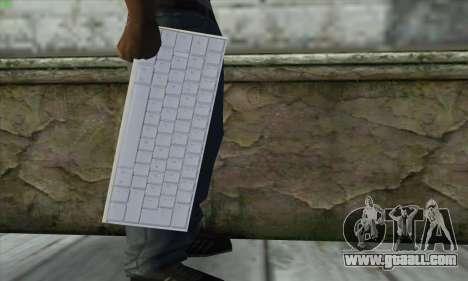 Tastatur Waffe for GTA San Andreas third screenshot