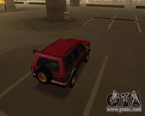 Landstalker V2 for GTA San Andreas right view